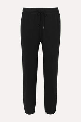 James Perse Cotton-blend Jersey Track Pants - Black