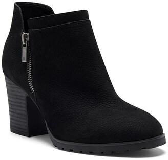 Lucky Brand Nyrima Stacked Block Heel Boot
