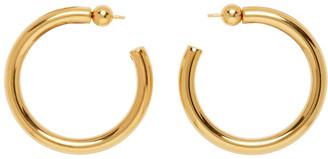 Sophie Buhai Gold Medium Everyday Hoop Earrings