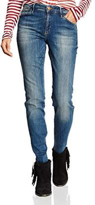 Cross Women's Slim Jeans Blue Blue - Blue