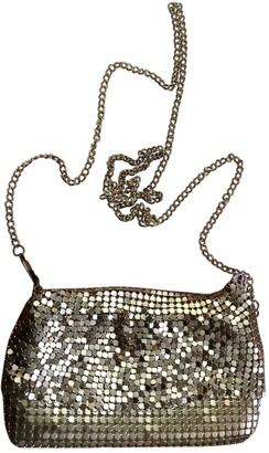 Non Signé / Unsigned Non Signe / Unsigned Gold Metal Clutch bags