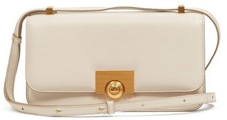 Bottega Veneta The Classic Leather Cross-body Bag - White