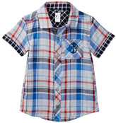 Petit Lem Reversible Woven Shirt (Toddler & Little Boys)