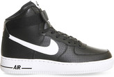 Nike Force 1 leather high-top trainers