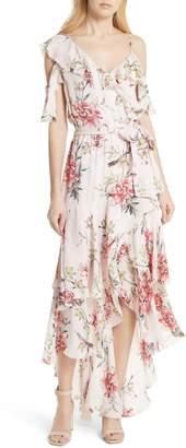 Joie Cristeta Floral Silk Maxi Dress