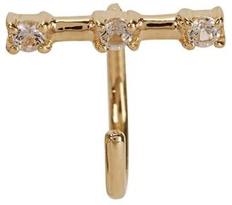 Otiumberg Tiny Staple 9kt Gold Stud Earring