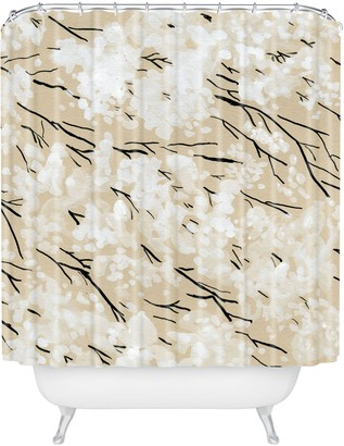 Deny Designs Blossom Shower Curtain