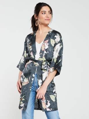 Very Jacquard Printed Kimono