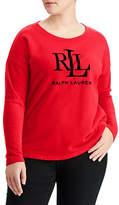 Lauren Ralph Lauren Plus French Terry Sweatshirt