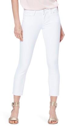Paige Skyline Crop Raw Hem Skinny Jeans