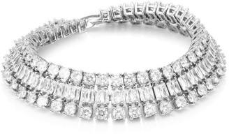 Fallon Double Diamante Crystal Bracelet