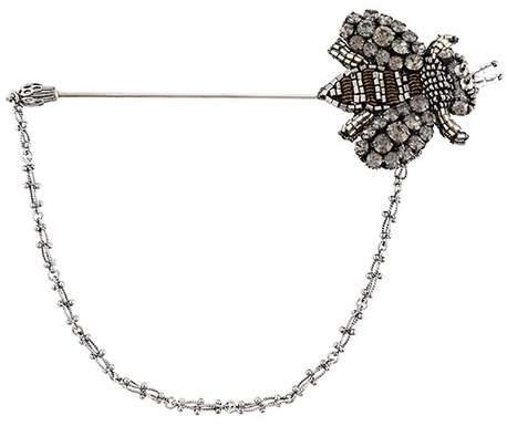 Dolce & Gabbana embellished bee pin