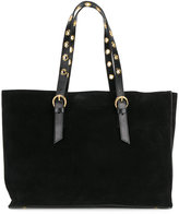 L'Autre Chose classic tote with gold-tone hardware