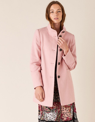 Under Armour Molly Casual Coat in Cotton Twill Pink