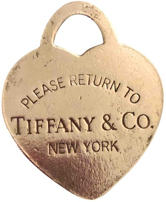 Tiffany & Co. & Co Return to Grey Silver Pendants
