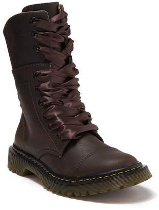 Dr. Martens Faora Herringbone Lined Boot