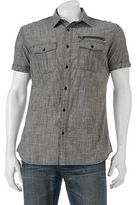 Rock & Republic Big & Tall Classic-Fit Chambray Stretch Button-Down Shirt