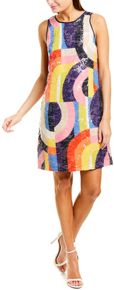 Trina Turk Kaleidoscope Shift Dress