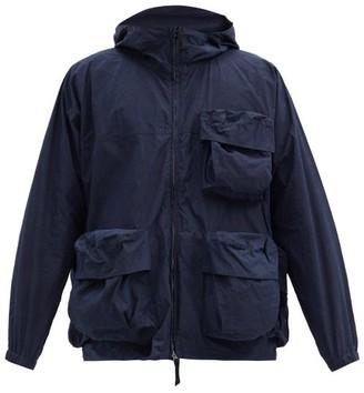 Snow Peak Hooded Cotton-blend Canvas Parka - Navy