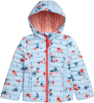 Joules Kids' Hooded Puffer Jacket