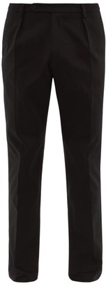Holiday Boileau Nico Cotton Relaxed-fit Chino Trousers - Black