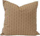 Janus et Cie Outdoor 18x18 Toss Pillow, Taupe/Black