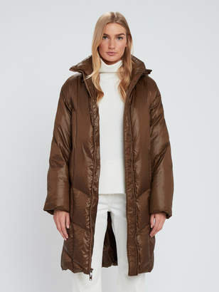 Vince Cropped Quilted Puffer Coat