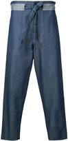 Andrea Pompilio - baggy jeans - men - Cotton - 44