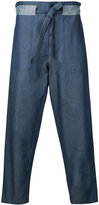 Andrea Pompilio - baggy jeans - men - Cotton - 46