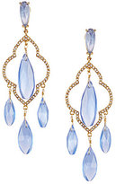 Kate Spade Lantern Gems Chandelier Statement Earrings
