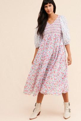 LoveShackFancy Analia Midi Dress