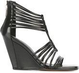 Rick Owens Mignon wedge sandals - women - Leather/rubber - 35