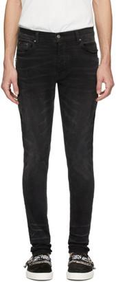 Amiri Black Half Track Jeans
