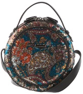 Round sequin bag