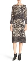 Tracy Reese Floral Print Silk Top & Slipdress