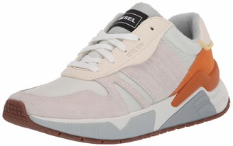 Diesel Men's S-BRENTHA Flow-Sneakers Grey