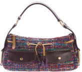 Hogan Multicolor Tweed Handle Bag