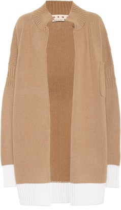 Marni Wool oversized cardigan