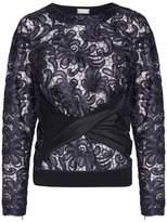 Alexis Mabille Lace Twist Sweatshirt