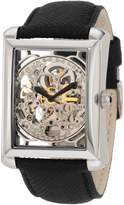 Akribos XXIV Men's AKR426SS Bravura Skeleton Stainless Automatic Watch