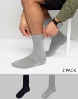 Jack and Jones Socks 2 Pack Textured