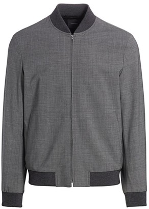 Theory Aiden New Tailor Bomber Jacket