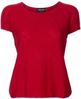 Giorgio Armani textured knitted top