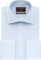 Thomas Pink Gregory Stripe Classic Fit Double Cuff Shirt