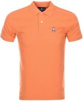 Psycho Bunny Classic Polo T Shirt Orange