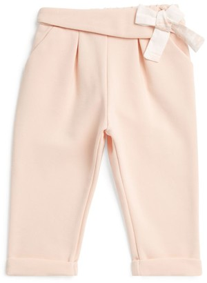 Chloé Kids Bow-Detail Trousers (6-36 Months)
