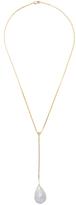 Janis Savitt 18K Yellow Gold, Pearl & 0.06 Total Ct. Diamond Pendant Drop Necklace