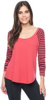 Splendid Thermal Venice Stripe Raglan