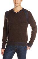 Robert Graham Men's Regan V-Neck Sweater