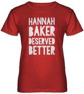 Indica Plateau Womens Hannah Baker Deserved Better T-Shirt